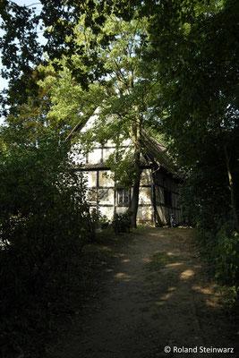 Alte Scheune der Burg Lede in Bonn-Villich