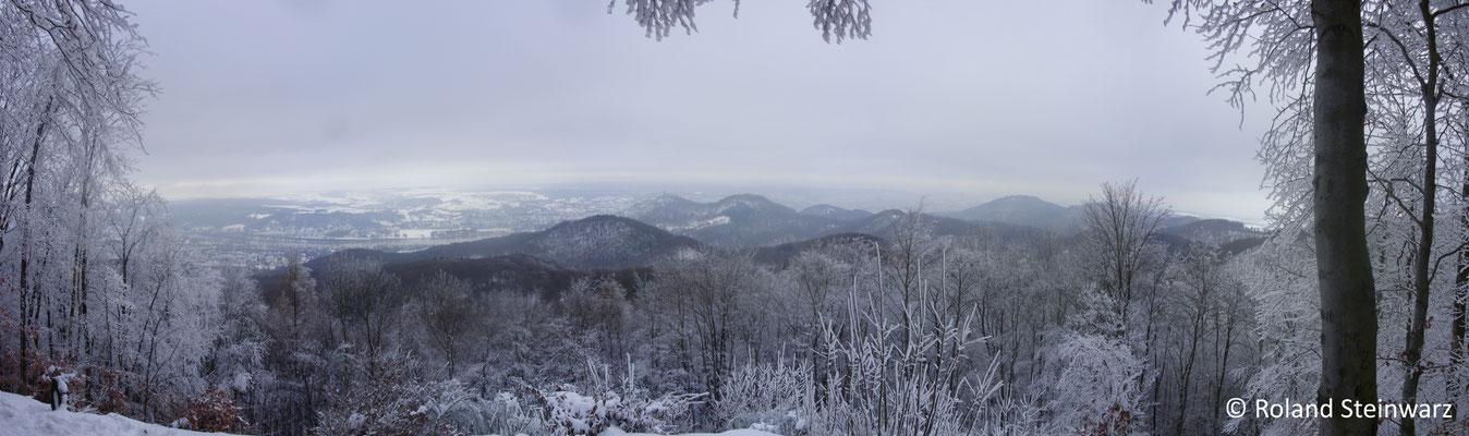 Aussichtspunkt an der Löwenburg, 5 Einzelfotos