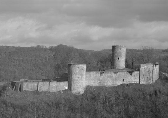 Burg Blankenberg heute. © Roland Steinwarz