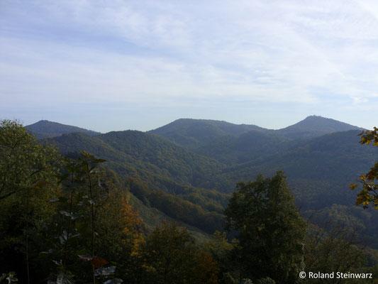 Berge und Täler