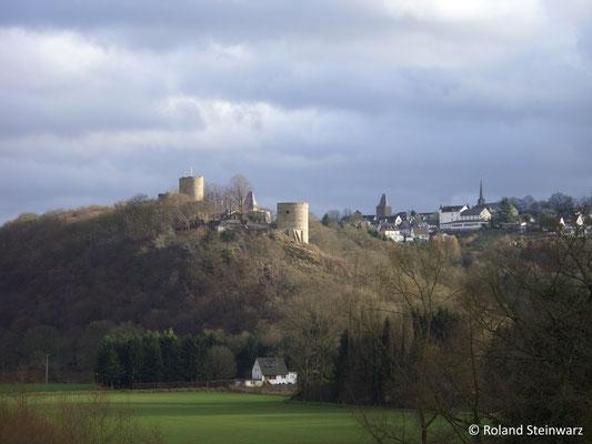 Burg und Stadt Blankenberg