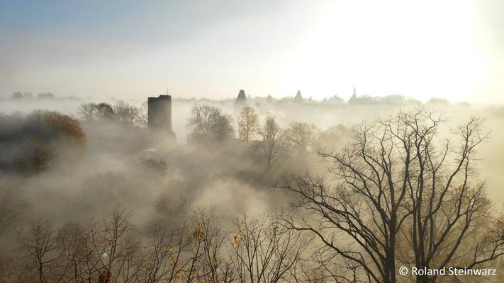 Morgennebel über Stadt Blankenberg
