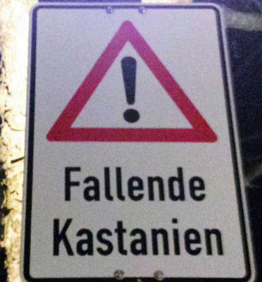Die Welt voller Gefahren!
