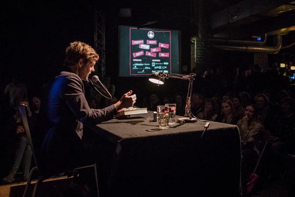 Thorsten Nagelschmidt bei HAM.LIT 2018 (Foto: Gordon Timpen)