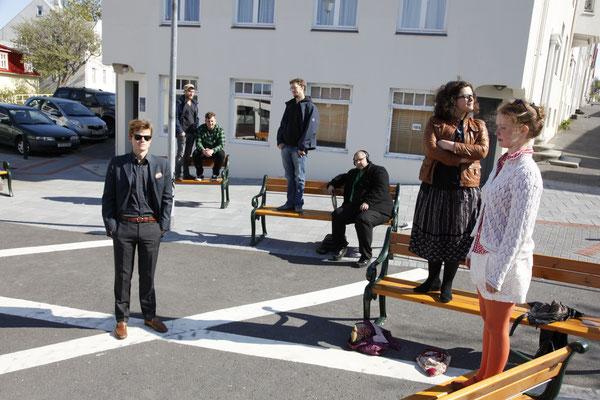 Finn-Ole Heinrich und Spaceman Spiff mit weiteren Künstler*innen, Island 2011