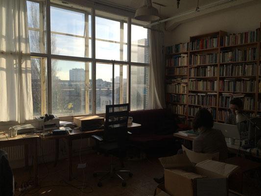 Im Büro von Terras