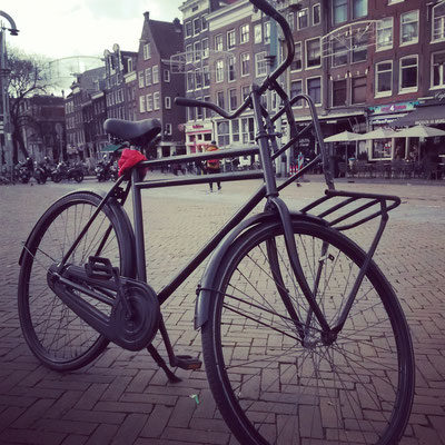 Natürlich haben wir uns gleich Fahrräder besorgt...
