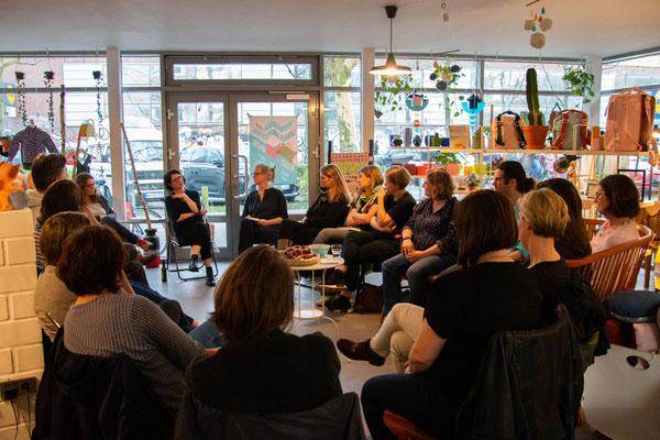 Leseclub mit Isabelle Lehn, oh dear, Hamburg 2019