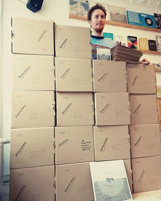 The wall of pre-order! Hannes Wittmer und seine Fans, März 2017