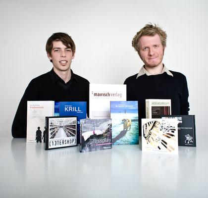 Offizielles Pressefoto 2007 in unserem ersten Büro, Foto von Roberto Hegeler