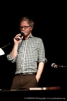 Daniel Beskos bei HAM.LIT 2012 (Foto: Gordon Timpen)
