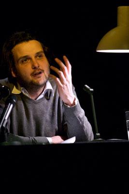 Tilman Rammstedt bei HAM.LIT 2010 (Foto: Gordon Timpen)