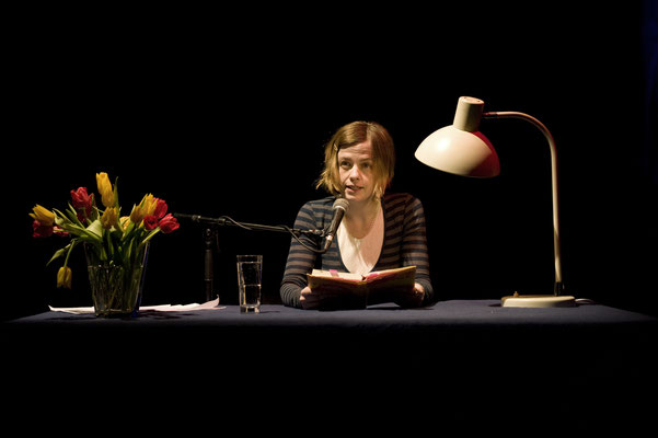 Mariana Leky bei HAM.LIT 2011 (Foto: Gordon Timpen)