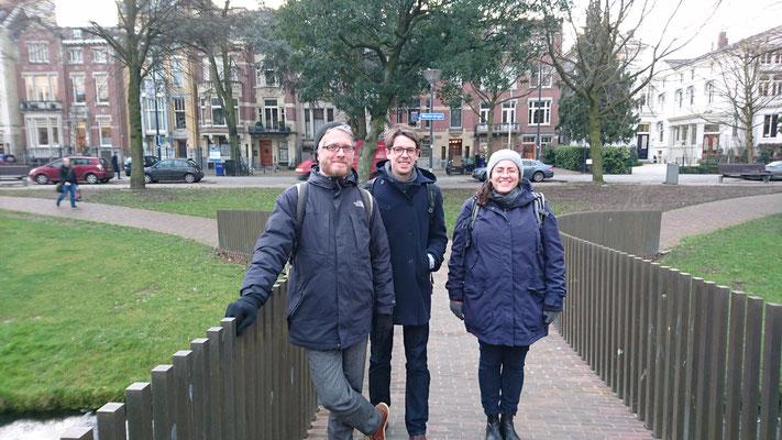Ausflug nach Rotterdam! Daniel, Peter, Blanka