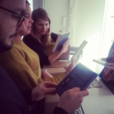 Bei den Kollegen vom Podium Verlag sind die neuen Bücher eingetroffen