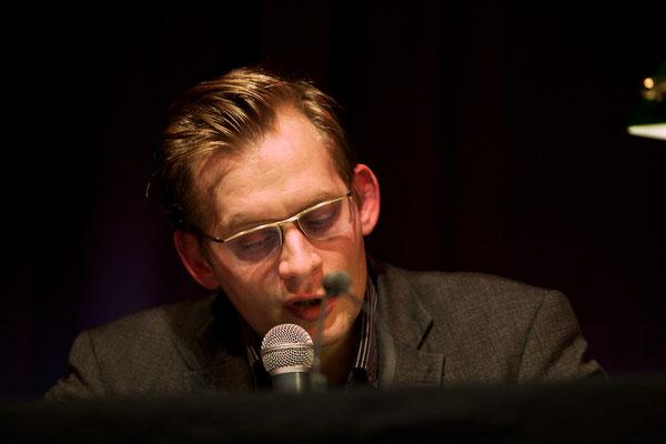 Clemens Meyer bei HAM.LIT 2010 (Foto: Gordon Timpen)