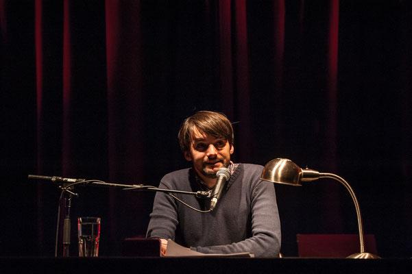 Sasa Stanisic bei HAM.LIT 2014 (Foto: Gordon Timpen)