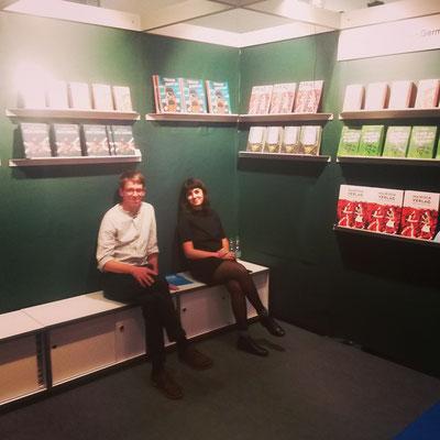 Peter und Nefeli, Buchmesse Frankfurt 2018