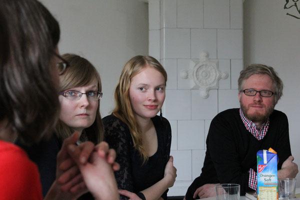 Bücherfrauen zu Gast bei mairisch, 2013