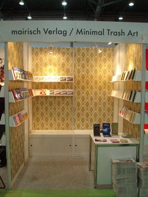 Buchmesse Leipzig: Unser erster Messestand in Leipzig.