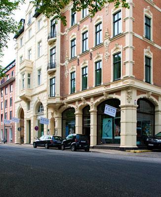 Unser damaliges Bürogebäude in der Königstraße in Hamburg Altona, 2012 (wir hatten einen kleinen Raum in einer Bürogemeinschaft)