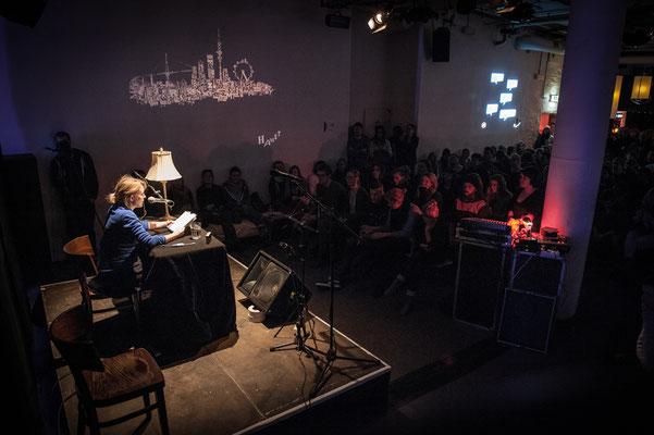 Katharina Hartwell bei HAM.LIT 2014 (Foto: Gordon Timpen)