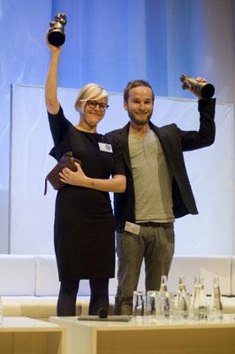 Deutscher Jugendliteraturpreis für Rán Flygenring und Finn-Ole Heinrich Buchmesse Frankfurt 2012