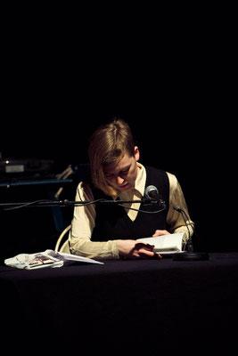 Ann Cotten bei HAM.LIT 2010 (Foto: Gordon Timpen)