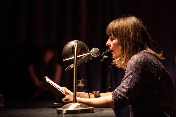 Uljana Wolf bei HAM.LIT 2014 (Foto: Gordon Timpen)