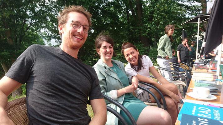 Hannes Wittmer, Nefeli Kavouras, Clara Jochum - LCB am Wannsee, Sommer 2018