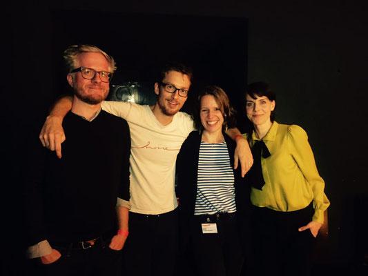 HarbourFront Festival 2017: Daniel Beskos, Hannes Wittmer, Steffi Ericke-Keidtel, Anna Depenbusch
