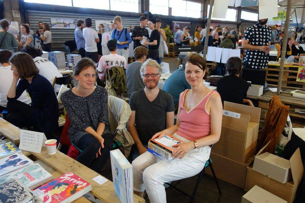 Daniel, Hannah & Katharina Gschwendtner - Indiecon, Hamburg 2015