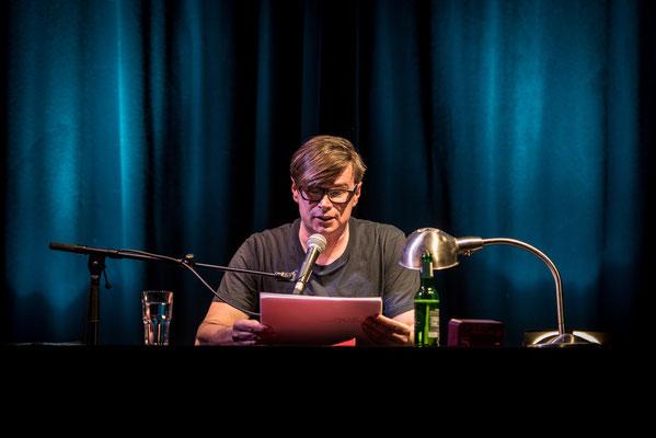 Jaroslav Rudis bei HAM.LIT 2016 (Foto: Gordon Timpen)