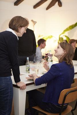 Leseclub mit Marie-Alice Schutz, Viktoriakaserne, Hamburg 2019