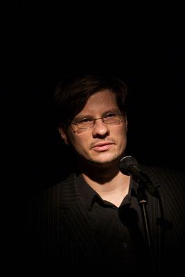 Alexander Gumz bei HAM.LIT 2010 (Foto: Gordon Timpen)