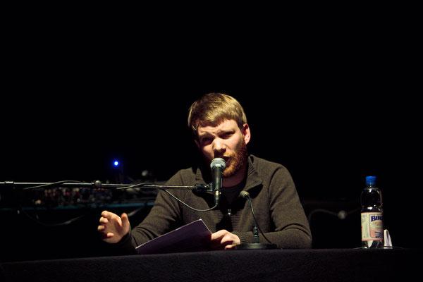 Benjamin Maack bei HAM.LIT 2010 (Foto: Gordon Timpen)