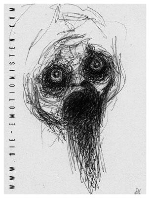 """""""ohne Titel"""" -  2014, Tusche auf Papier, 20 x 30 cm, Kaufpreis 50,-"""