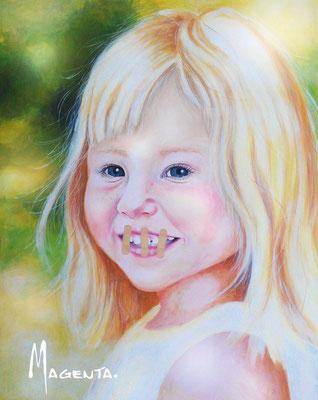 """Ida"" -  2013, Acryl auf Leinen, 80 x 100 cm, Kaufpreis 1500,-"