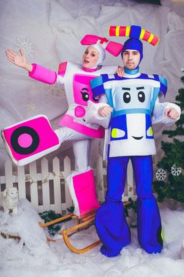 Аниматоры Робокары в Химках на детский праздник!
