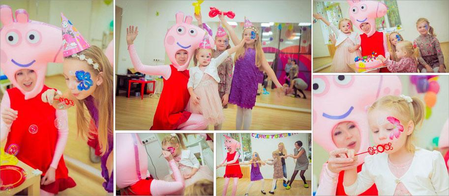 Аниматор Свинка Пеппа на праздник для малышей в Химках.