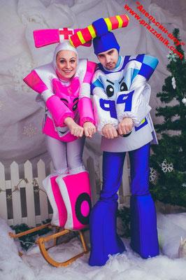 Аниматоры Робокары на детский праздник в Солнечногорске, аниматоры Робокары на выпускной в детском саду.