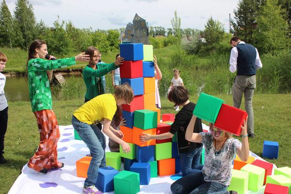 Поролоновое шоу на детский праздник Зеленоград Химки Истра Лобня Красногорск