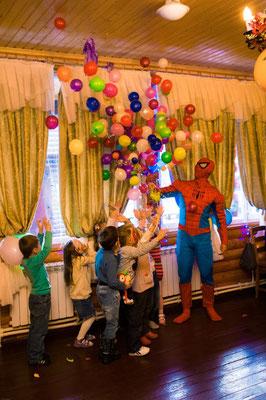 Аниматор Человек-паук на день Рождения в Лобне!