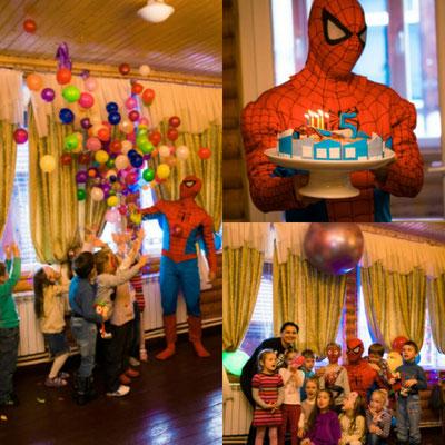 Аниматоры Человек-паук на выпускной и день Рождения в Химках.