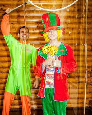 Шоу Мыльных пузырей на детский праздник в Лобне!