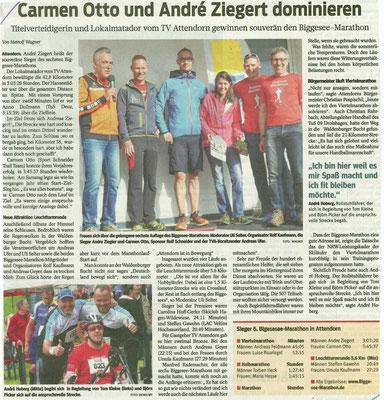 Westfalenpost, 20. Juni 2016