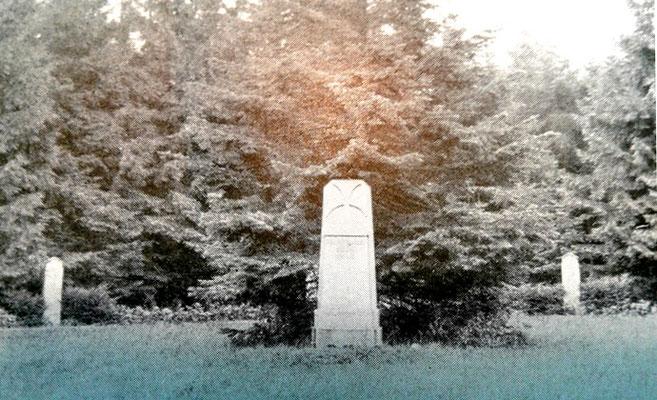 Ehrenhain für die Gefallenen des I. Weltkrieges