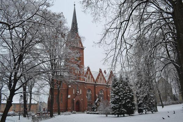 Ehemalige evangl. Erlöserkirche, jetzt kath. Kirche der Redemptoristen, Foto: Henryk Romańczyk