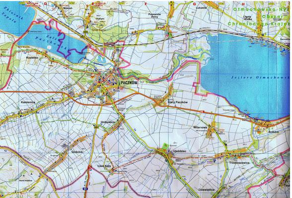 Karte von 2007