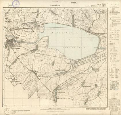 Karte von 1933